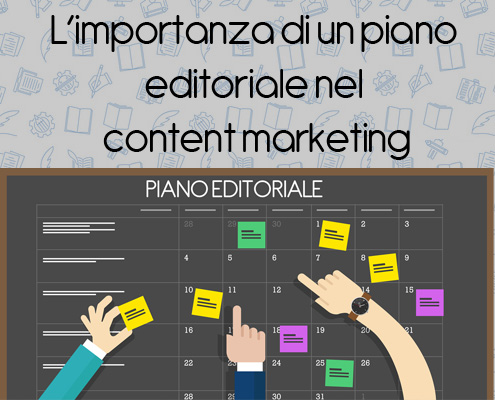 Importanza di un piano editoriale nel content marketing