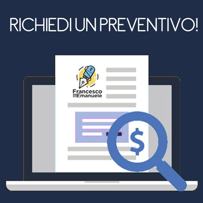 Richiedi un preventivo - Francesco Emanuele SEO Copywriter