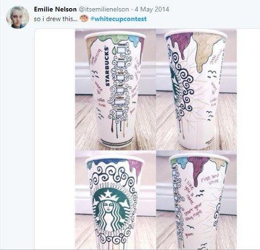 Esempio UGC Starbucks